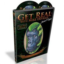 Tattoo DVD Get Real Animal Style by Mike Devries [Animal Style DVD] - $90.00 : Tattoo Supplies and Equipment from Joker Tattoo Supply