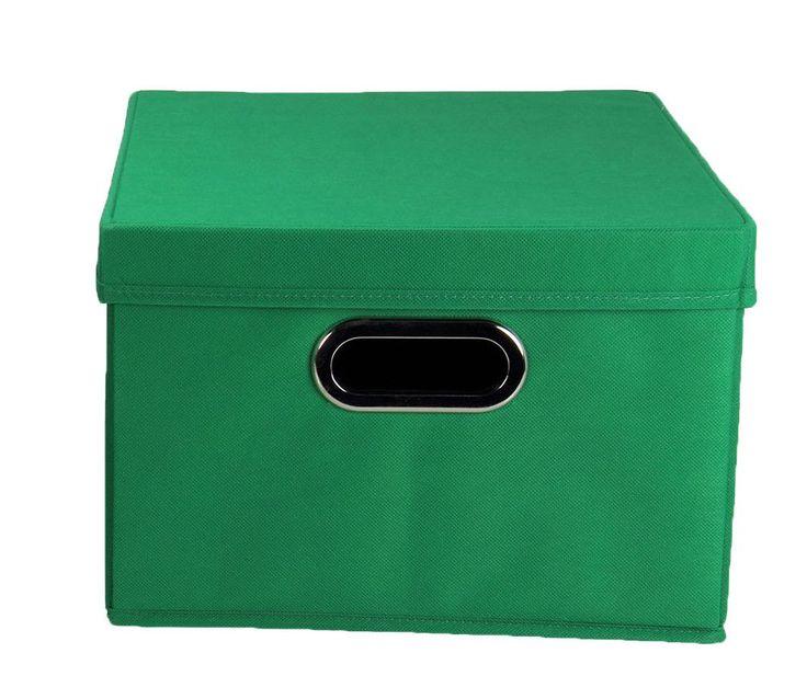 alexis storage bin with lid