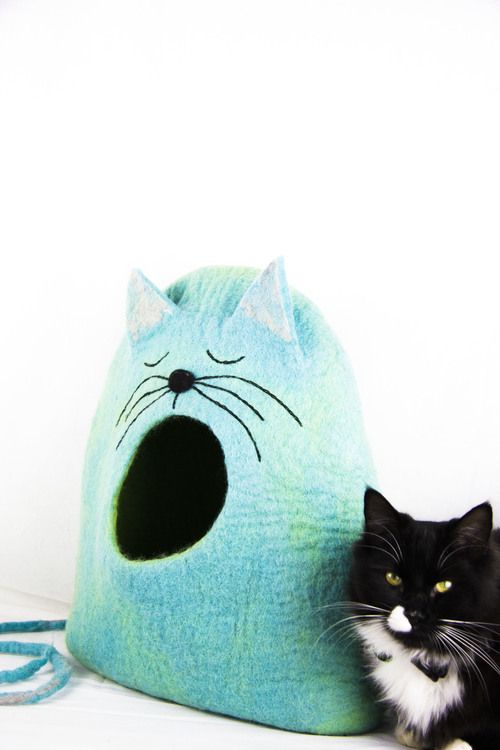 NEW felt cat caves coming soon to mimis daughters website (to reserve email or PM me)