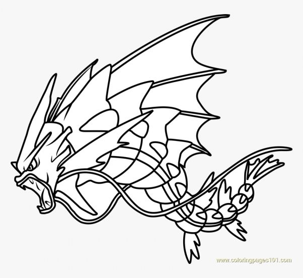 12 Gyarados Coloring Page Pokemon Coloring Pokemon Coloring Pages Pokemon Drawings