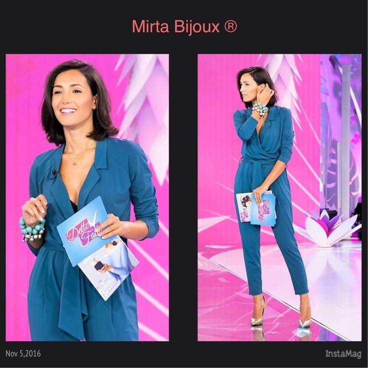 Mirta Bijoux Look della settimana Ottobre 2016 LOOK DELLA SETTINA DI CATERINA BALIVO:  BRACCIALI  BALLS BY MIRTA BIJOUX®