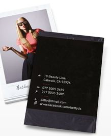 Preview image of Business Card design 'Polaroid'