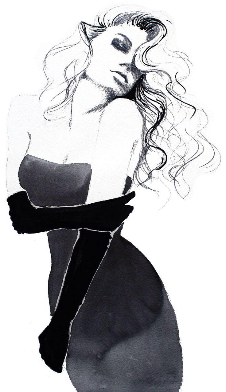 Black dress we heart it - Ala