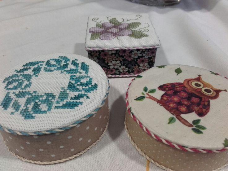 cross stitch box