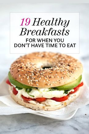 19 Healthy Breakfasts for When You Don't Have Time to Eat   foodiecrush.com