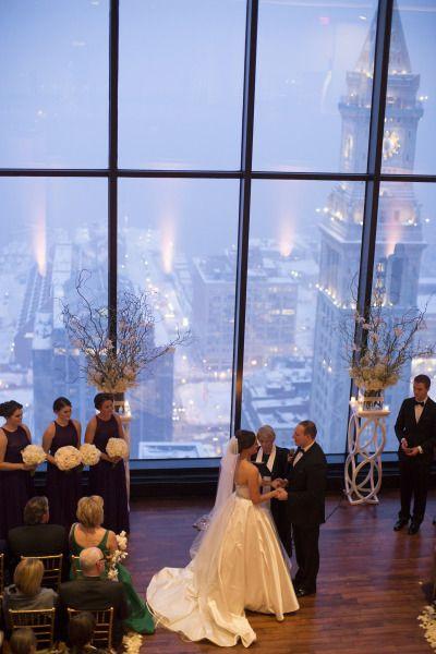 Elegant winter wedding: http://www.stylemepretty.com/massachusetts-weddings/boston/2015/05/29/black-tie-boston-winter-wonderland-wedding/   Photography: Kate Preftakes - http://preftakesphoto.com/
