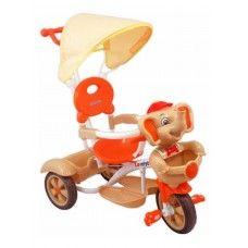 AKCE-poštovné zdarma ! Dětská tříkolka cena 1327,-kč Dětská šlapací tříkolka Baby Mix je ideální volba pro letní procházky! Tříkolka je určena pro děti ve věku 3 - 5 let. Díky veselým barvám, motivu slona a praktickým vychytávkám přináší dítěti skvělou zábavu. Tříkolku může ovládat jak dítě, tak i rodič díky rukojeti pro tlačení. Velký košík nabízí možnost pro uložení drobností nebo dětských hraček a stříška chrání dítě před sluncem.