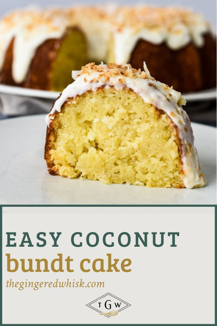 Simple Coconut Bundt Cake Recipe Dessert Recipes Cake Recipes