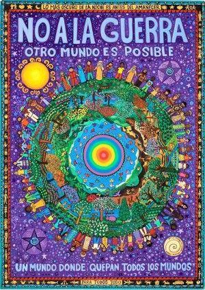 Beatriz Aurora Castedo. Otro mundo es posible. Un mundo donde quepan todos los mundos.