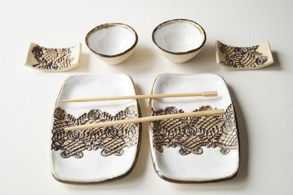 Hoi! Ik heb een geweldige listing op Etsy gevonden: https://www.etsy.com/nl/listing/263977537/witte-sushi-set-6-stuks-set-voor-2-sushi