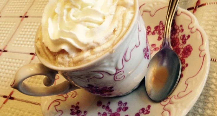 Fahéjas kávé