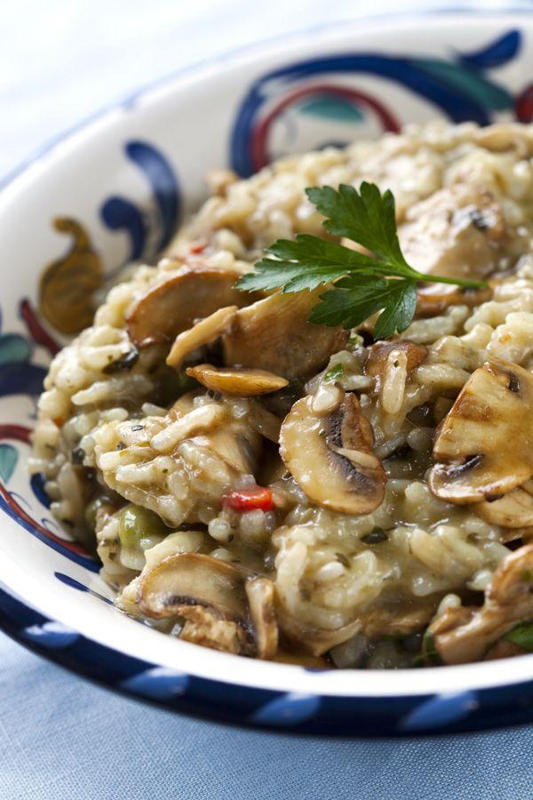 Φτιάξτε το πεντανόστιμο αυτό ριζότο με μανιτάρια και θα νιώσετε σαν Ιταλοί.
