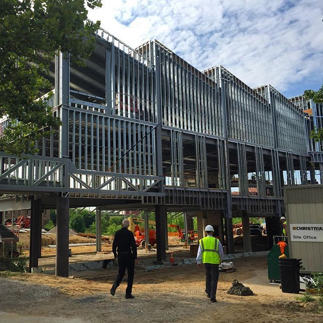 Preston Scott Cohen Is Here To Check The #taubmancollege Building Addition  Progress. Building Opening · PrestonLu0027wren ScottMichiganUniversity