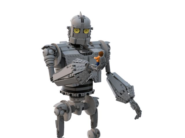 LEGO Ideas The Iron Giant - Le Géant de Fer