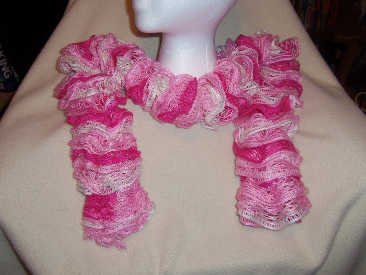 34 Best Images About Loom Ruffle Scarves On Pinterest