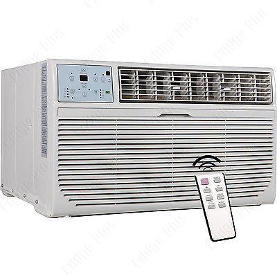 8000 BTU Thru-The-Wall Air Conditioner & Heater w/ Sleeve, 115V TTW Fan AC Unit