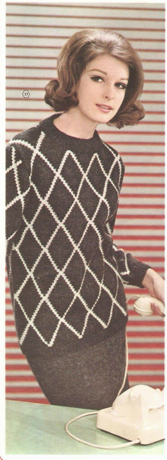 knitting pattern, damestrui, breipatroon, damestrui breien