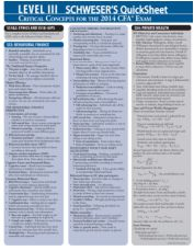 Felsebiyat Dergisi – Popular 2018 Cfa Level 1 Schweser