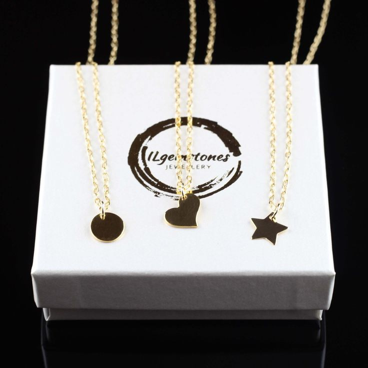 Delicate necklaces in Sterling Silver or Gold Filled. Always popular.... can be hand stamped or left blank.