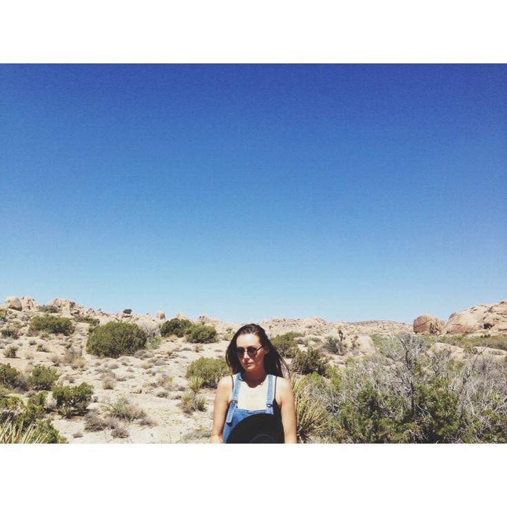 Joshua Tree National Park, CA, USA #joshuatree #palmsprings #desert  The Susie Blue overalls #madebyafriendofmine