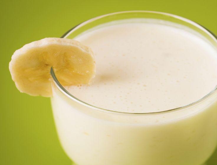 Smoothie cu banane si ghimbir, indulcit cu miere!
