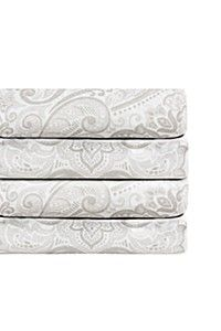 200 THREAD COUNT FILIGREE FITTED SHEET