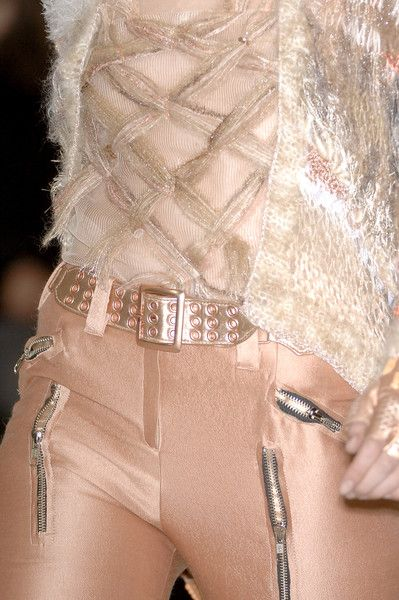 Apricot...love the knit jacket...Chanel