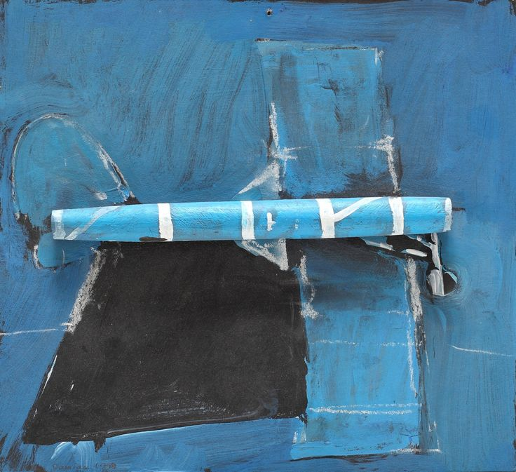 LOT 4 HORIA DAMIAN Airplane [1998] Acrylic, wood and chalk on cardboard 27 × 30 cm (10.6 × 11.8 inch) Estimate €500 - €900 Starting price €400  http://lavacow.com/current-auctions/lavacow-autumn-auction/airplane.html