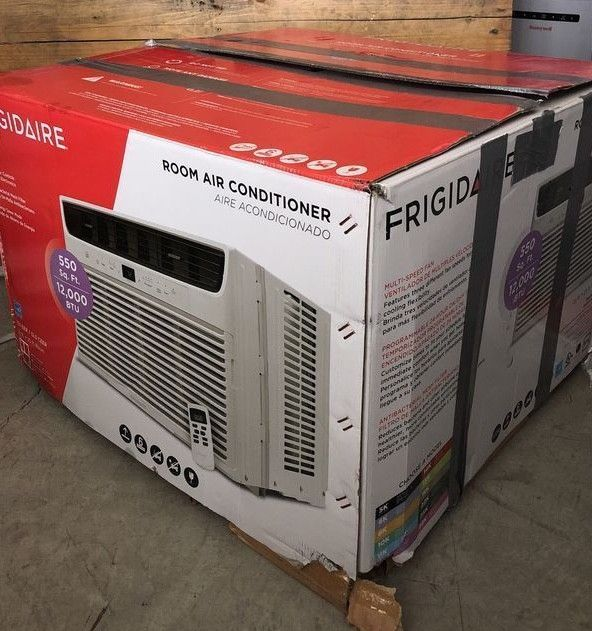 Central Air Conditioners 185108 Frigidaire Model Ffre1233u1 550 Sq Ft 12000 Btu Window Air Central Air Conditioners Window Air Conditioner Air Conditioner
