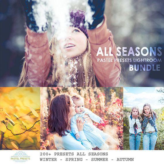 200 Lightroom Presets All Seasons Spring Summer door PastelPresets