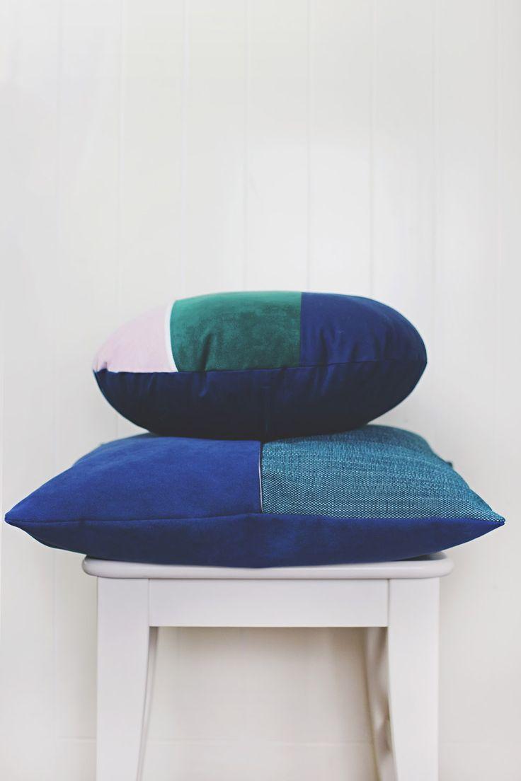 Undergrowth 50cm + Fireside round cushions