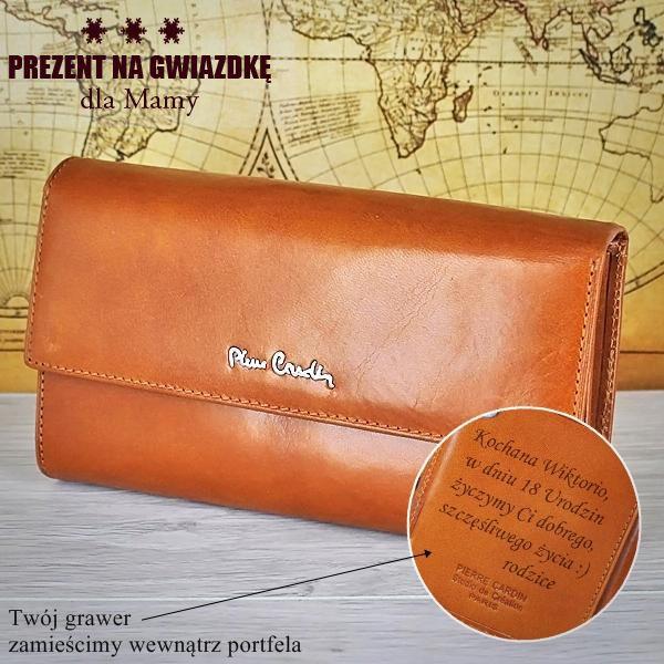 Skórzany portfel Pierre Cardin to gwarancja jakości na długi czas dla Twojej Mamy :)  http://bit.ly/1kK9X3C