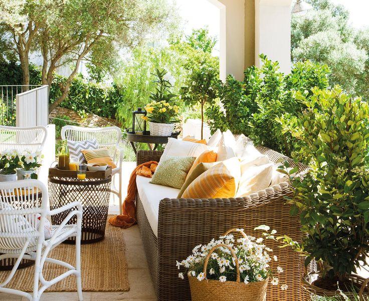 Las 25 mejores ideas sobre jardines r sticos en pinterest - Decoracion de jardines rusticos ...