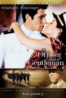 An Officer and a Gentleman (1982) - this an interesting movie, def not the cheesy love story I thought it would be, which is refreshing that it was more realistic. It was depressing at times however there were also some unrealistically optimistic parts as well. I think it portrayed the military experience with a glint of shine to it.