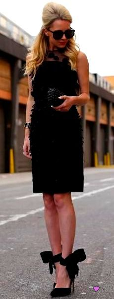 LBD for an evening outing