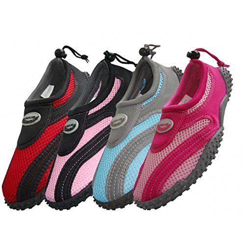 Wholesale Women's Wave Aqua Socks multiple sizes  swimming pool beach water shoes