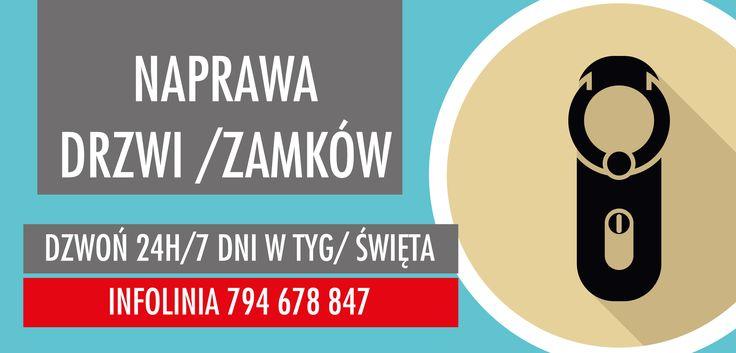 Pogotowie Zamkowe Częstochowa 24h Awaryjne otwieranie drzwi www.fachowyserwis.pl 794678847 wymiana zamków Naprawa drzwi