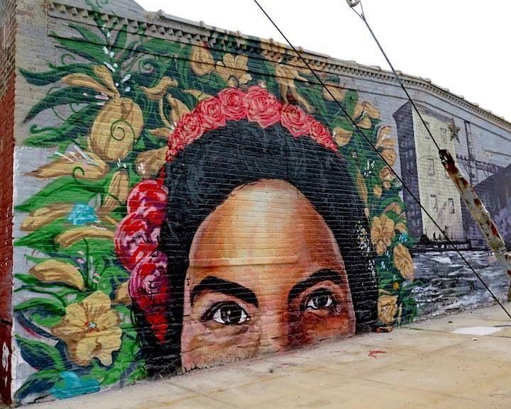 by LNY + Mata Ruda + NDA - Red Hood, Brooklyn - NYC