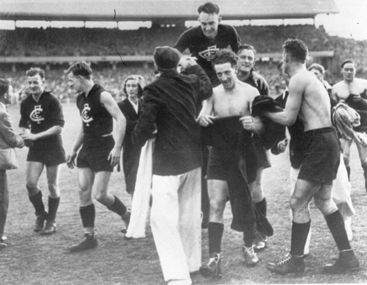 1947 Grand Final: Carlton 13.8.86 def Essendon 11.19.85.