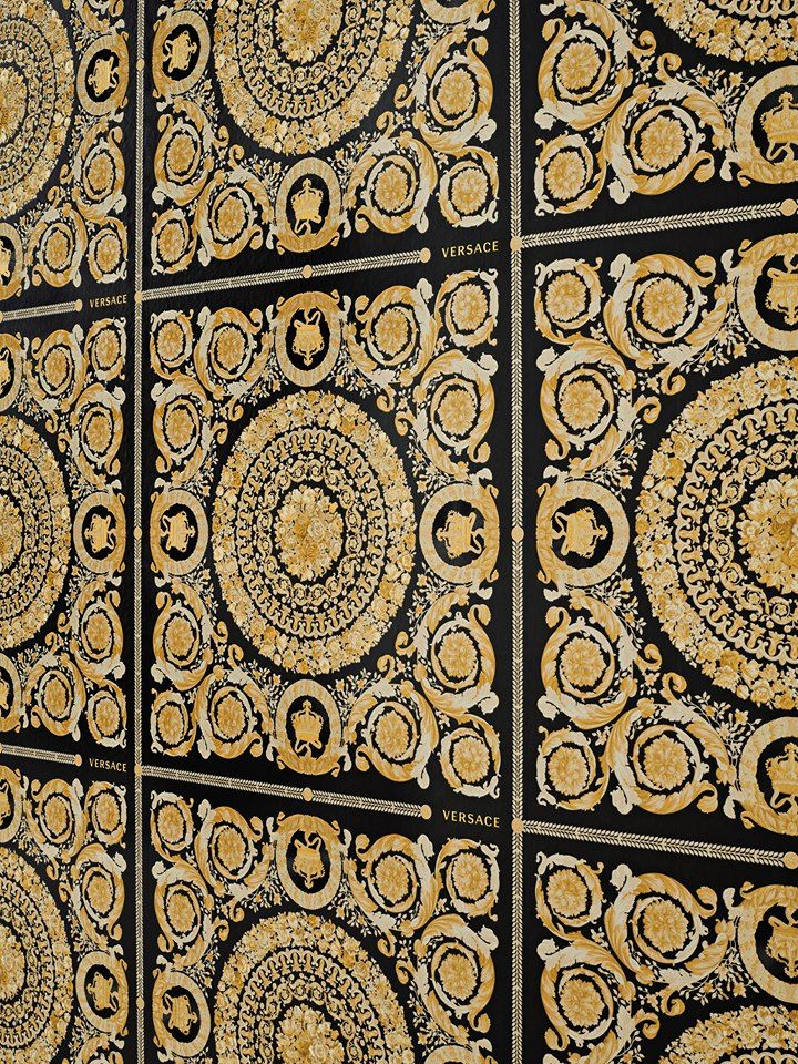 Versace Iv Heritage Black And Gold Wallpaper 370553 Home Decor Hull Limited Gold Wallpaper Versace Wallpaper Wallpaper Walls Decor