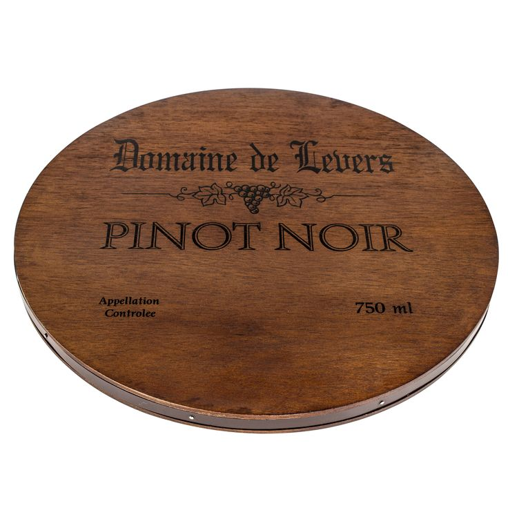 Pinot Noir Wine Cask Cheese Tray