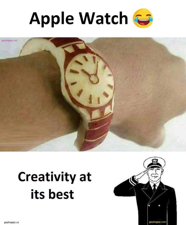 Funny Meme About The Real Apple Watch