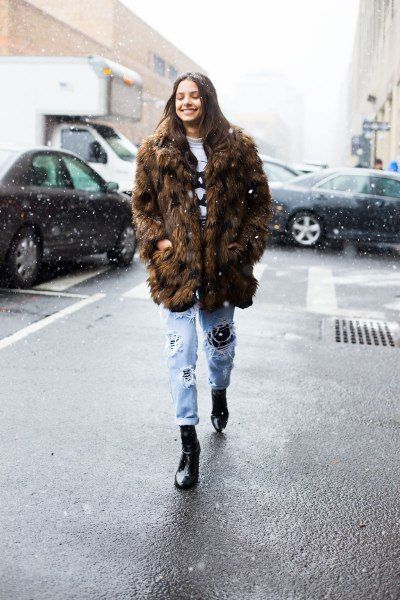 5515170b Must-See Street Style from New York Fashion Week | Clothes | Fashion ...