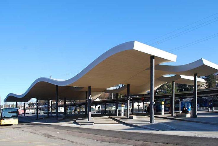 Bus terminal, Dornach-Arlesheim (Photo: Otto + Partner AG)