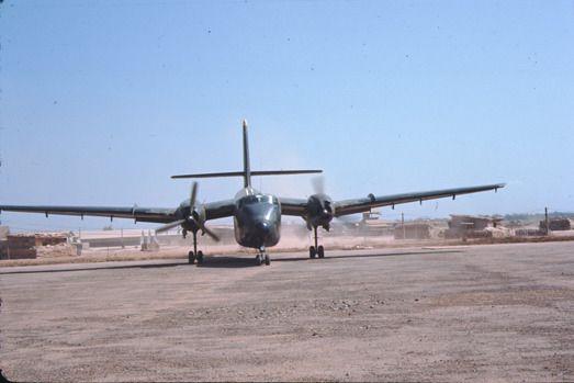 USAF de Havilland Canada C-7 Caribou, 1967