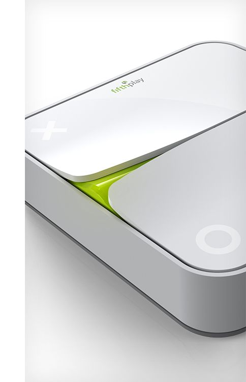 Smart Energy Box for Electrabel by Achilles Design