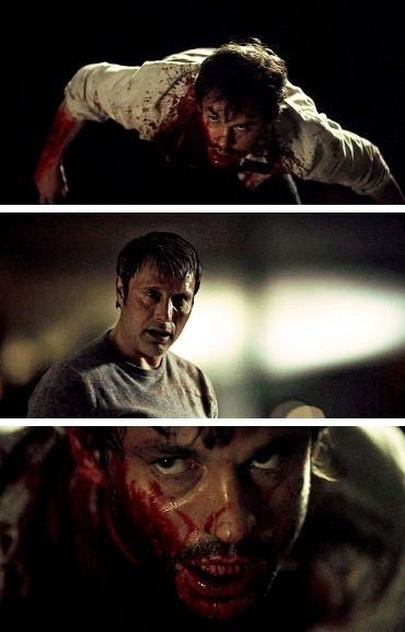 Hannibal 3x13 The Wrath of the Lamb. Source: mattmrudock.tumblr