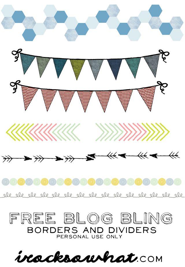 kostenlose border blog
