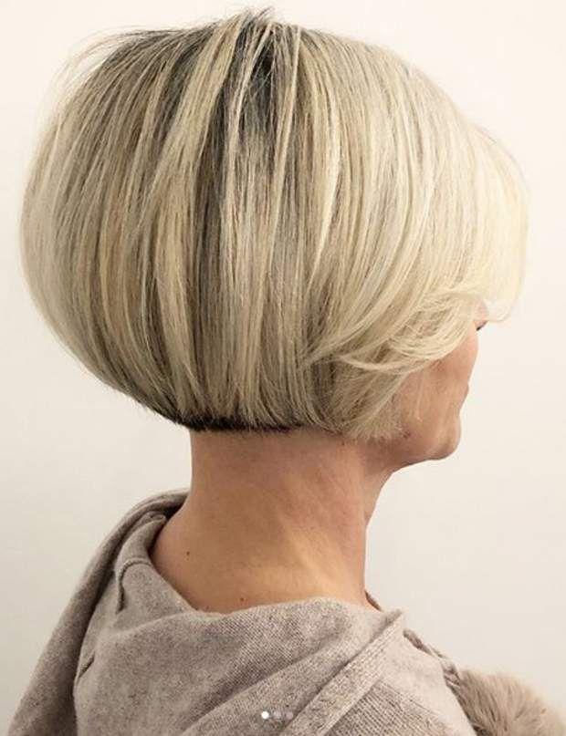 Cheveux blancs 7 coupes courtes pour les sublimer