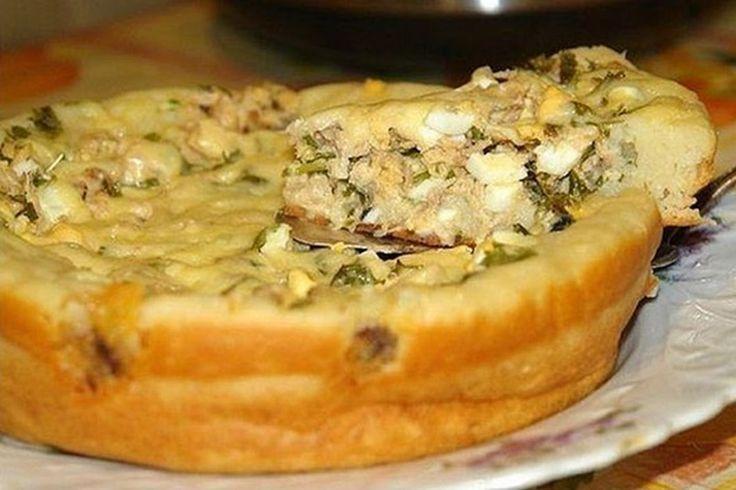 """""""Быстрый РЫБНЫЙ ПИРОГ на сковороде"""" Быстрый в приготовлении и потрясающе вкусный рыбный пирог! Быстрее и вкуснее не придумать! Рецепт смотрите здесь >>>... - Рузана Гречаная - Google+"""
